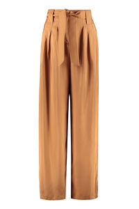 Arten silk trousers, Wide leg pants Max Mara woman