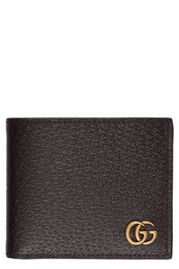 Marmont leather flap-over wallet, Wallets Gucci man