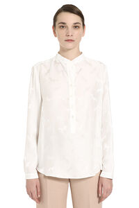 Horse jacquard blouse, Blouses Stella McCartney woman