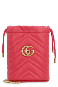 Mini-bag GG Marmont in pelle matelassé, Secchiello Gucci woman