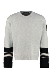 Wool and cashmere sweater, Crew necks sweaters Neil Barrett man