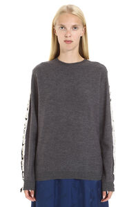 Crew-neck wool sweater, Crew neck sweaters Stella McCartney woman