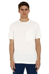 Cotton t-shirt with chest pocket, Short sleeve t-shirts C.P. Company man