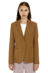 Single-breasted two-button blazer, Blazers Max Mara Studio woman