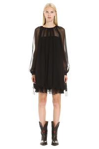 Plain silk dress, Mini dresses Alberta Ferretti woman