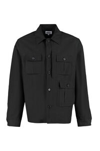 Cotton overshirt, Plain Shirts Kenzo man