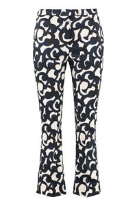 Summer printed cotton trousers, Trousers suits S Max Mara woman