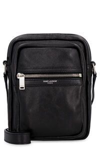 Sid leather messenger bag, Messenger bags Saint Laurent man