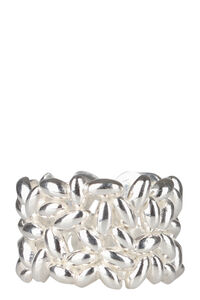 Rice silver ring, Rings Bea Bongiasca woman