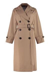 Dimper cotton trench coat, Raincoats And Windbreaker Max Mara The Cube woman