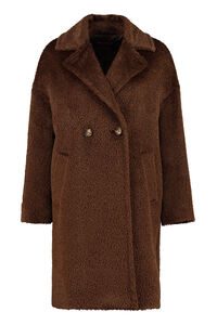 Jums wool and alpaca coat, Faux Fur and Shearling Max Mara Studio woman