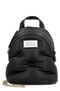 Glam Slam leather mini backpack, Backpack Maison Margiela woman