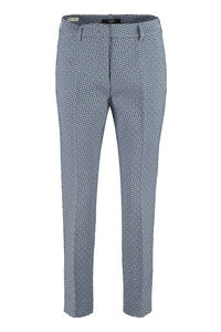 Onore jacquard cropped trousers, Straight Leg pants Weekend Max Mara woman
