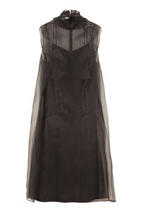 Silk organza dress, Knee Lenght Dresses Prada woman
