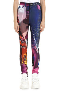 Printed high-rise trousers, Skinny leg pants Maison Margiela woman