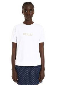 Crew-neck cotton T-shirt, T-shirts Stella McCartney woman