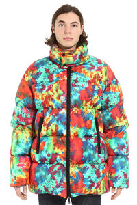 Printed down jacket, Down jackets Dsquared2 man