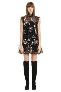 Mini embroidered tulle dress, Mini dresses Red Valentino woman