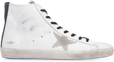 Francy high-top leather sneakers
