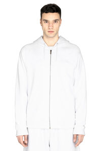 Cotton full zip hoodie, Zip through Givenchy man