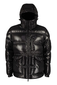 Tethys shiny nylon down jacket, Down jackets 2 Moncler 1952 man