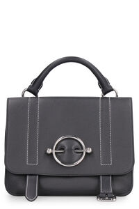 Disc leather handbag, Top handle JW Anderson woman
