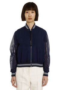 Vidim cotton bomber jacket, Bomber Sportmax Code woman