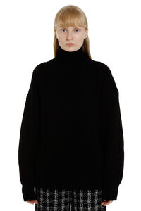 Ribbed turtleneck sweater, Turtleneck sweaters MSGM woman