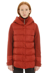 Hooded short down jacket, Down Jackets Herno woman