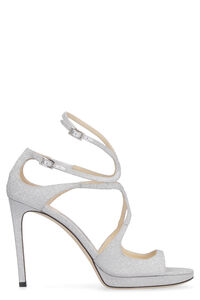 Lance glittered ankle-strap sandals, Heeled Sandals Jimmy Choo woman