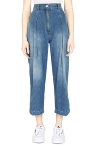 Penny cropped-fit jeans, Cropped Jeans Pinko woman