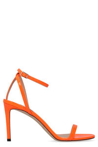 Minny fluo leather sandals, High Heels sandals Jimmy Choo woman