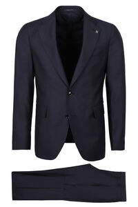 Virgin wool two piece suit, Suits Tagliatore man