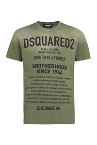 Stretch cotton T-shirt, Short sleeve t-shirts Dsquared2 man