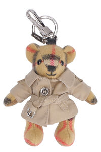 Thomas Trench vintage check teddy-bear key holder, Keyrings Burberry woman
