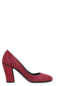 Satin pumps, Pumps Prada woman