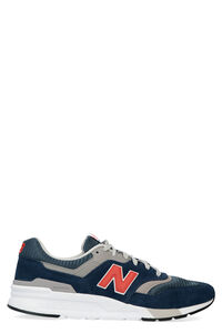 997H techno-fabric and leather sneakers, Low Top Sneakers New Balance man