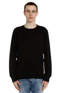 Skull patch cotton sweatshirt, Sweatshirts Alexander McQueen man