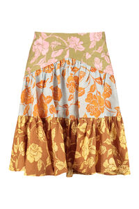 The Lovestruck printed linen skirt, Printed skirts Zimmermann woman