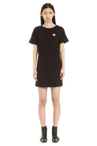 Cotton sweatdress, Mini dresses Love Moschino woman