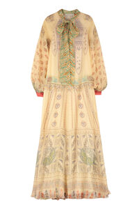 Printed organza gown, Maxi dresses Etro woman