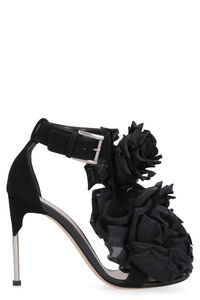 Suede heeled sandals, High Heels sandals Alexander McQueen woman