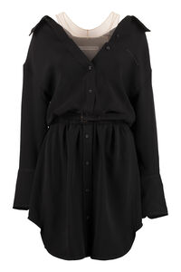 Shrugged off shirtdress, Mini dresses Alexander Wang woman
