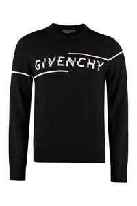 Wool crew-neck pullover, Crew necks sweaters Givenchy man