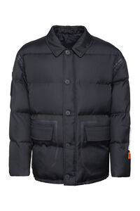 Padded jacket with zip and buttons, Down jackets Heron Preston man