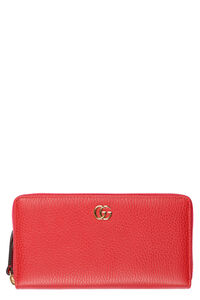 Leather zip-around wallet, Wallets Gucci woman