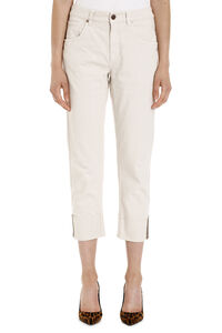 Cropped-fit jeans, Cropped Jeans Brunello Cucinelli woman