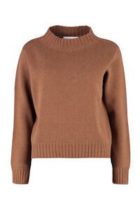 Wool and cashmere pullover, Crew neck sweaters Fabiana Filippi woman