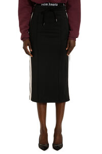 Techno jersey pencil skirt, Pencil skirts Palm Angels woman