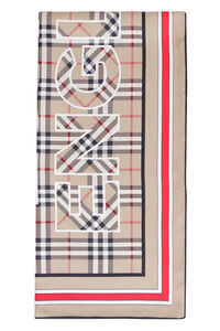 Silk scarf, Scarf Burberry woman